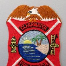Militaria: PARCHE BOMBERO USA - CLEARWATER FIRE & RESCUE - FLORIDA. Lote 294965438