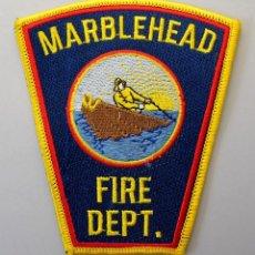 Militaria: PARCHE BOMBERO USA - MARBLEHEAD FIRE DEPT. - MASSACHUSSETS. Lote 294965818
