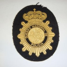 Militaria: PARCHE DEL CUERPO NACIONAL DE POLICÍA.. Lote 295343688