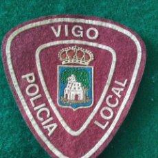 Militaria: PARCHE POLICÍA LOCAL MUNICIPAL VIGO (PONTEVEDRA). Lote 295479548