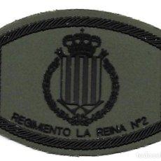 Militaria: PARCHE EJERCITO REGIMIENTO LA REINA 2. Lote 295479568