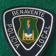 Militaria: PARCHE POLICÍA LOCAL MUNICIPAL BENAVENTE ( ZAMORA ). Lote 295480058