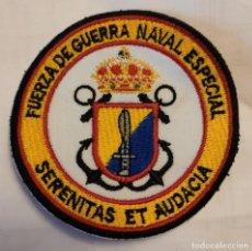 Militaria: PARCHE EMBLEMA BORDADO A COLOR DE LA FUERZA DE GUERRA GUERRA NAVAL ESPECIAL. Lote 295511113