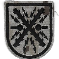 Militaria: PARCHE ET TRANSMISIONES ARIDO PIXELADO. Lote 295772973