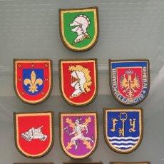 Militaria: LOTE PARCHES MILITARES. Lote 295812343