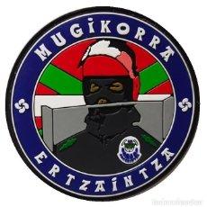 Militaria: PARCHE POLICÍA ERTZAINTZA (BRIGADA MÓVIL) PVC 2D. Lote 296728593