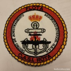 Militaria: PARCHE EMBLEMA FLOTA C.A.S.I. ROTA CENTRO DE ADIESTRAMIENTO SEGURIDAD INTERIOR N.B.Q.R.. Lote 296729283