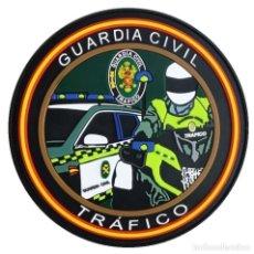Militaria: PARCHE POLICÍA , GUARDIA CIVIL TRAFICO (PVC 2D CON VELCRO). Lote 296729743