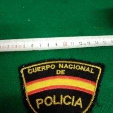 Militaria: PARCHE CUERPO NACIONAL DE POLICIA. Lote 296730393