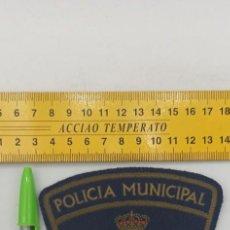 Militaria: 1 PARCHE POLICIA MUNICIPAL MARBELLA ENVIO CERTIFICADO GRATUITO. Lote 296783923