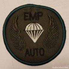 Militaria: PARCHE EMBLEMA BORDADO EMP AUTO. Lote 296891973