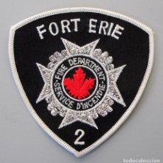 Militaria: PARCHE BOMBERO CANADA - FOR EIRE - ONTARIO. Lote 296898828