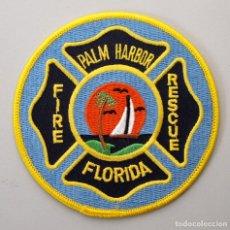 Militaria: PARCHE BOMBERO USA - PALM HARBOR - FLORIDA. Lote 296900538