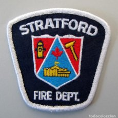 Militaria: PARCHE BOMBERO CANADA - STRATFORD - ONTARIO. Lote 296900743