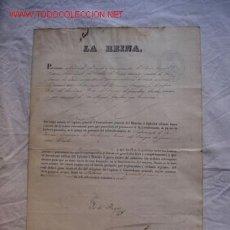 Militaria: NOMBRAMIENTO DE UN GUARDIA CIVIL FIRMADO POR LA REINA ISABEL II. Lote 26806795