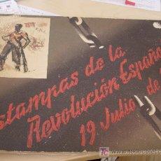 Militaria: GUERRA CIVIL ESPAÑOLA. ESTAMPAS DE LA REVOLUCIÓN DE 1936. SIM. Lote 26315715