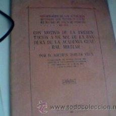 Militaria: LIBRITO RECOPILANDO LOS ACTOS DE PRESENTACION BANDERA A SS.MM. ACADEMIA GENERAL MILITAR. 1918. Lote 27624879