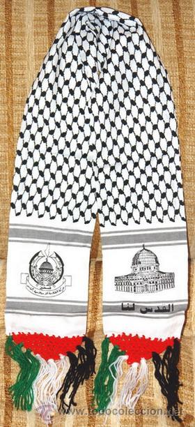 precio de fábrica el mejor adecuado para hombres/mujeres Bufanda palestina integrista comando jerusalem - Sold ...