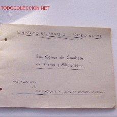 Militaria: LOS CARROS DE COMBATE -ITALIANOS Y ALEMANES-. Lote 27291556