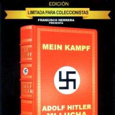 Militaria: ADOLF HITLER MI LUCHA (DVD PRECINTADO EDICION LIMITADA COLECCIONISTAS DESCATALOGADO) MUY RECOMENDADA. Lote 223749355