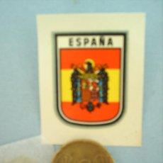 Militaria: CALCAMONIA-ESCUDO DE ESPAÑA , AGUILA FRANQUISTA -AÑOS 40-50. Lote 11139146