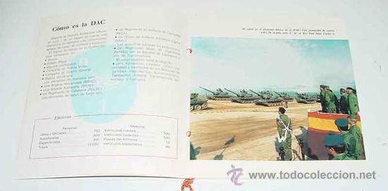 Militaria: ANTIGUO FOLLETO DIVISION ACORAZADA BRUNETE NUMERO 1 - ESCUDOS DE LAS UNIDADES DE LA DAC - FOTOGRAFI - Foto 2 - 10858867