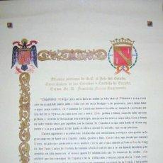 Militaria: MENSAJE POSTUMO DE FRANCISCO FRANCO BAHAMONDE.. 1975. ENVIO GRATIS¡¡¡. Lote 13630913