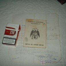 Militaria: CARTILLA MILITAR ANTIGUA. Lote 15259661