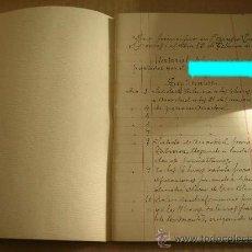 Militaria: DOCUMENTO HISTORICO LIBRETA CON HISTORIAL DIARIO DE UN GUARDIA CIVIL. GUERRA CIVIL DE ESPAÑA 1937-39. Lote 26838260