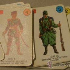 Militaria: BARAJA DE CARTAS, EJÉRCITOS. Lote 18171652