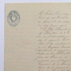 Militaria: GOBIERNO MILITAR DE LOGROÑO, AÑO 1869. 2 DOCUMENTOS MANUSCRITOS.. Lote 19133037