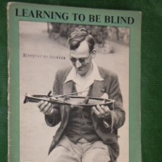 Militaria: BRITAIN ADVANCES N.8 - 1943 - LEARNING TO BE BLIND. Lote 26605836