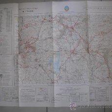 Militaria: 1977 MAPA MILITAR DE SAN LORENZO DEL ESCORIAL 1:50000. Lote 27554874