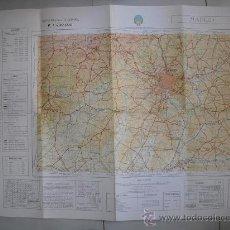 Militaria: 1968 MAPA MILITAR DE MADRID 1:200000. Lote 27554875