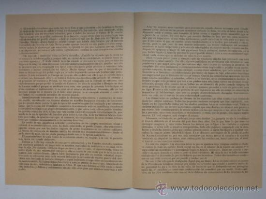 Militaria: Discurso de Adolf Hitler el día 30 de enero de 1945. Ver mas fotos. - Foto 2 - 26506269