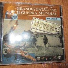 Militaria: GRANDES BATALLAS DE LA II GUERRA MUNIDAL --- VOL. 1: LA GUERRA RELÁMPAGO --- CD ROM. Lote 27664240