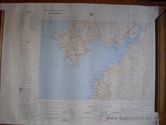 MAPA MILITAR DE ESPAÑA 1:50000 NOYA 3-8 (119) (Militar - Propaganda y Documentos)