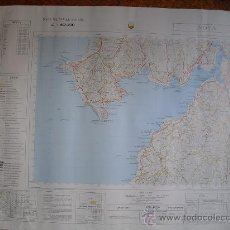 Militaria: MAPA MILITAR DE ESPAÑA 1:50000 NOYA 3-8 (119). Lote 130161586