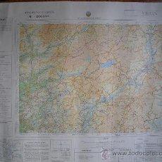 Militaria: MAPA MILITAR DE ESPAÑA 1:200000 VERIN 2-4. Lote 27859817