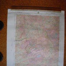 Militaria: MAPA DE LA CARTOGRAFIA MILITAR DE ESPAÑA 1:250000 SERIE 5L MAPA GENERAL ORENSE 2-2. Lote 27859957