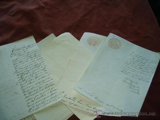 MUY INTERESANTES E INEDITOS DOCUMENTOS DE LAS GUERRAS CARLISTAS,PERTENECIENTES AL MARQUES DE CARO (Militar - Propaganda y Documentos)
