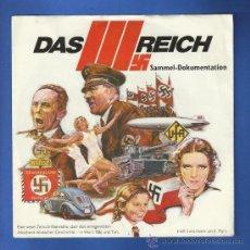Militaria: DISCO SINGLE. DAS III REICH - SAMMEL DOKUMENTATION.. Lote 27987158