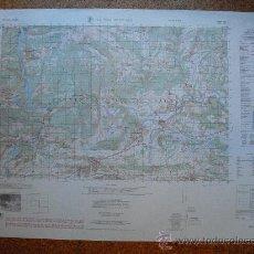 Militaria: 1960 MAPA DE ARTESA DE SEGRE DEL ARMY MAP SERVICE E 1:50000 UTILIZACION RESERVADA. Lote 28897852