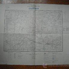 Militaria: HOJA DE GUITIRIZ DEL PLANO DIRECTOR E 1:25000 1959. Lote 29071877
