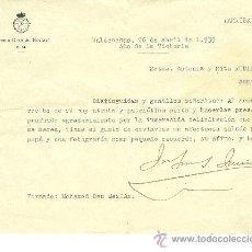 Militaria: 1ª DE NAVARRA GUERRA CIVIL DOCUM. MOHAMED BEN MEZIAN,ÉL SALVÓ LA VIDA A FRANCO. REGULARES. MANRESA. Lote 29169723