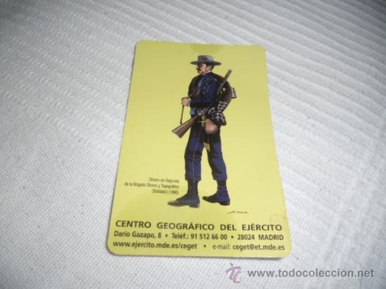CALENDARIO CENTRO GEOGRAFICO DEL EJERCITO OBRERO DE SEGUNDA DE LA BRIGADA OBRERA Y T. 1890 AÑO 2011 (Militar - Propaganda y Documentos)