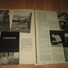 Militaria: SANIDAD,ESPIONAJE Y CONTRAESPIONAJE,ELOGIOS DE LOS I HOJA REVISTA VERTICE Nº EXTRAORDINARIO DE 1937. Lote 29721165