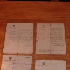 Militaria: 4 CONCESIONES DE 7 MEDALLAS DE GUERRA CIVIL A MISMO SOLDADO. RARAS. ZONA ARAGON. ZARAGOZA, HUESCA.. Lote 29982480