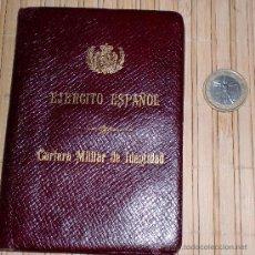 Militaria: CARNET MILITAR. Lote 29990778