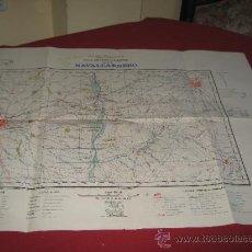 Militaria: MAPA MILITAR - CARTOGRAFIA MILITAR DE ESPAÑA - PLANO DIRECTOR - HOJA 581 NAVALCARNERO CUARTO I. Lote 30978866